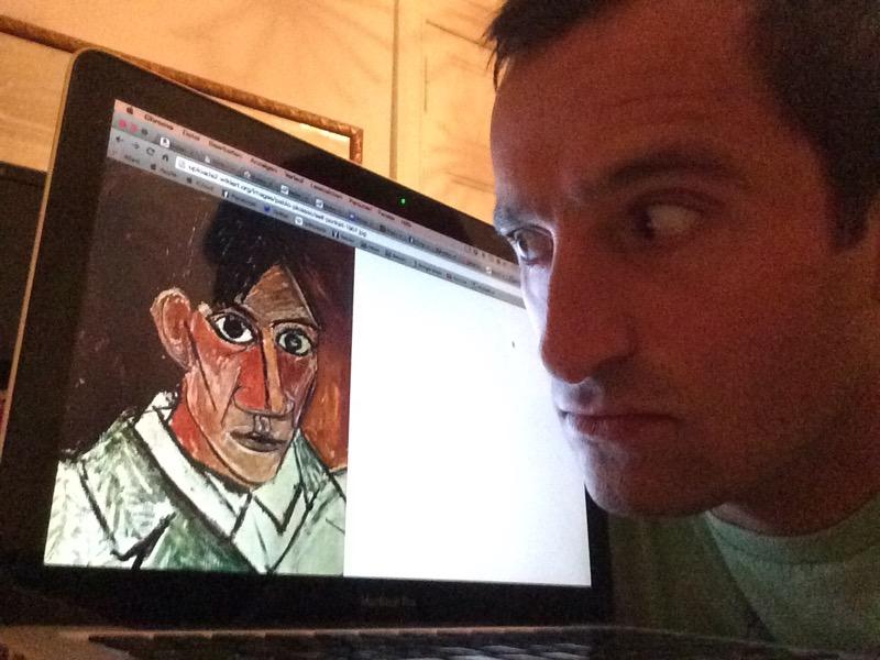 Alireza fragt Picasso: Bist Du ein Genie?